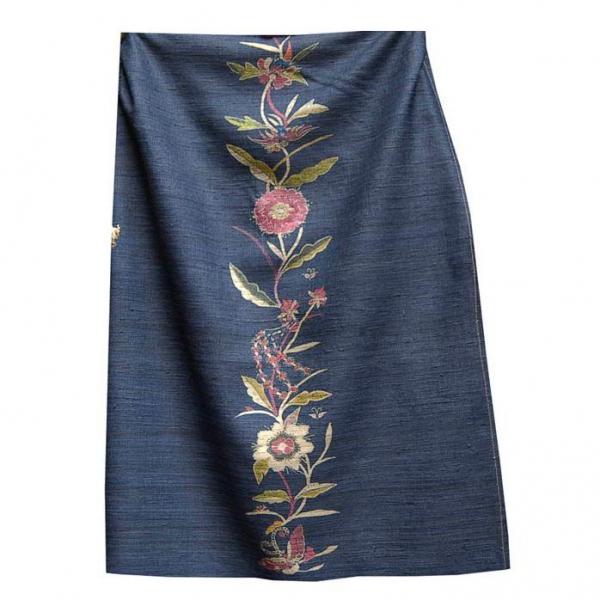 интерьерные ткани лен италия: